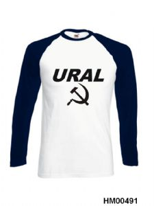 Ural Motorcycle Long Sleeve  T-Shirt HM491